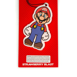 Super Mario - Mario Air Freshener | Licensed Nintendo Accessory-Strawberry Scent