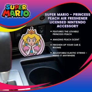 Super Mario - Princess Peach Air Freshener | Licensed Nintendo Accessory