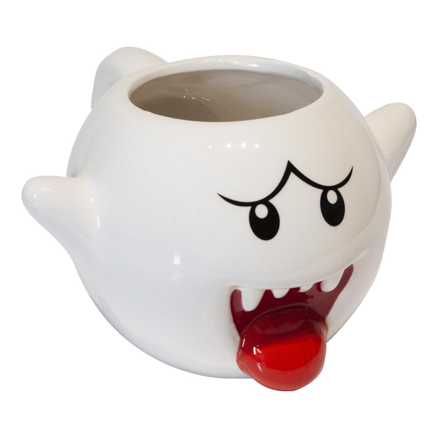 Super Mario Bros. 20oz Boo Molded Coffee Mug