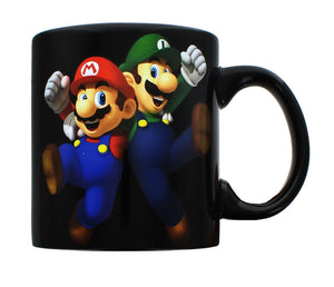 Super Mario Bros. Mario & Luigi 20oz Ceramic Mug
