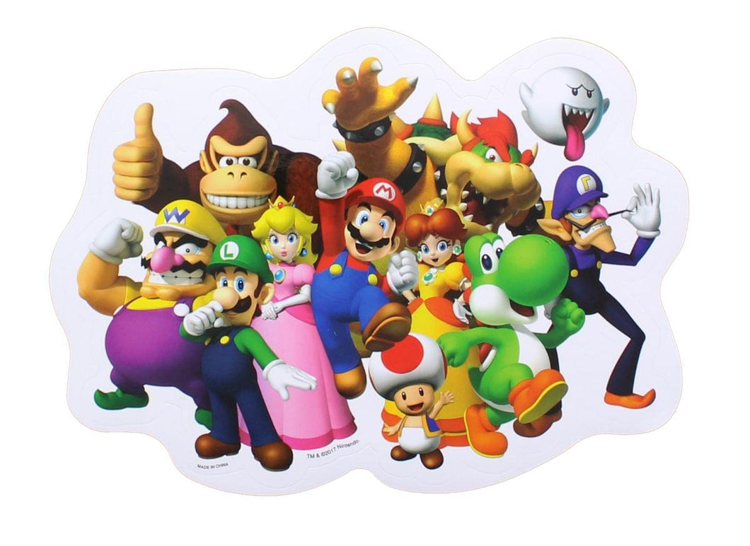 Super Mario Bros. Party Car Decal