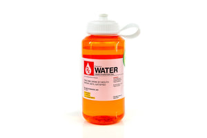 Prescription Water 32 Oz Plastic Water Bottle With Lid