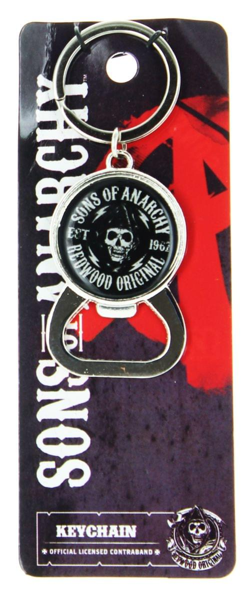 Sons of Anarchy Bundle: Lanyard, Flask, Mug, Bottle Opener, Pint Glasses