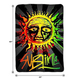 Sublime Sun Lightweight Fleece Throw Blanket | 45 x 60 Inches