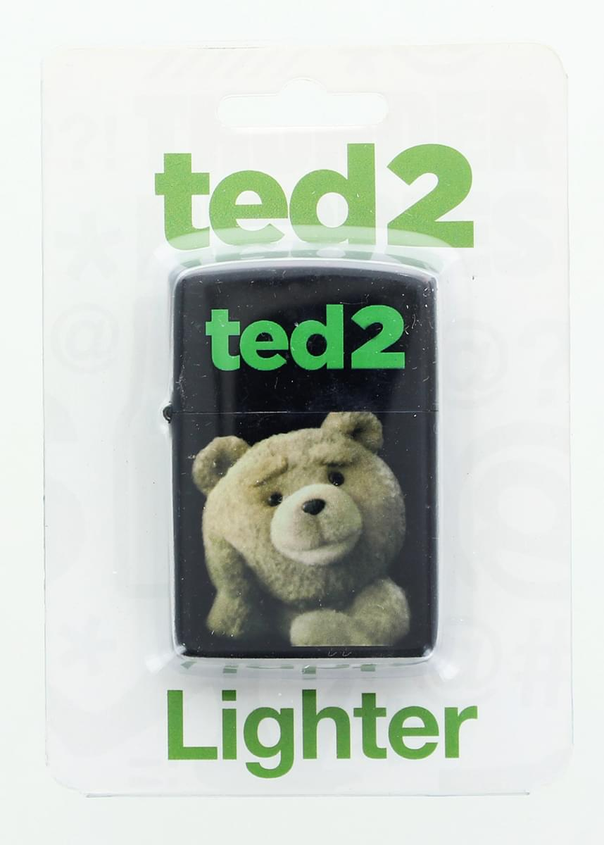 Ted 2 Logo/ Ted Torch Lighter