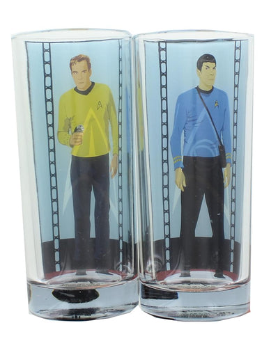 Star Trek 2-Pack Set Drinking Glass