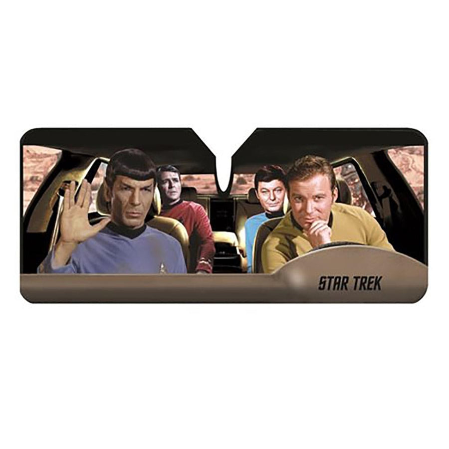 Star Trek Passengers Car Sunshade
