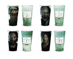 The Walking Dead New Asset Set of 4 Pint Glass
