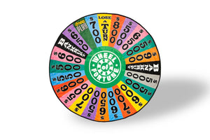 Wheel Of Fortune Game Show Spin Wheel Fleece Throw Blanket | Measures 59 Inches