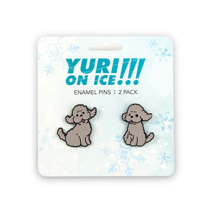 Yuri on Ice Collectibles | Yuri Poodles Collector Pin | Japanese Collection