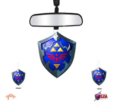 Load image into Gallery viewer, The Legend Of Zelda Hylian Shield Vanilla Scent Air Freshner