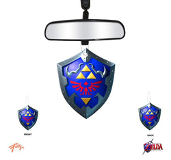 The Legend Of Zelda Hylian Shield Vanilla Scent Air Freshner