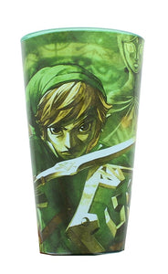 The Legend Of Zelda Link & Princess Zelda Pint Glass
