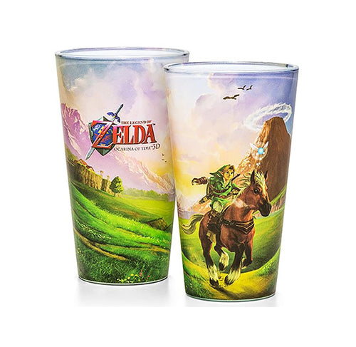 The Legend of Zelda Ocarina of Time Pint Glass