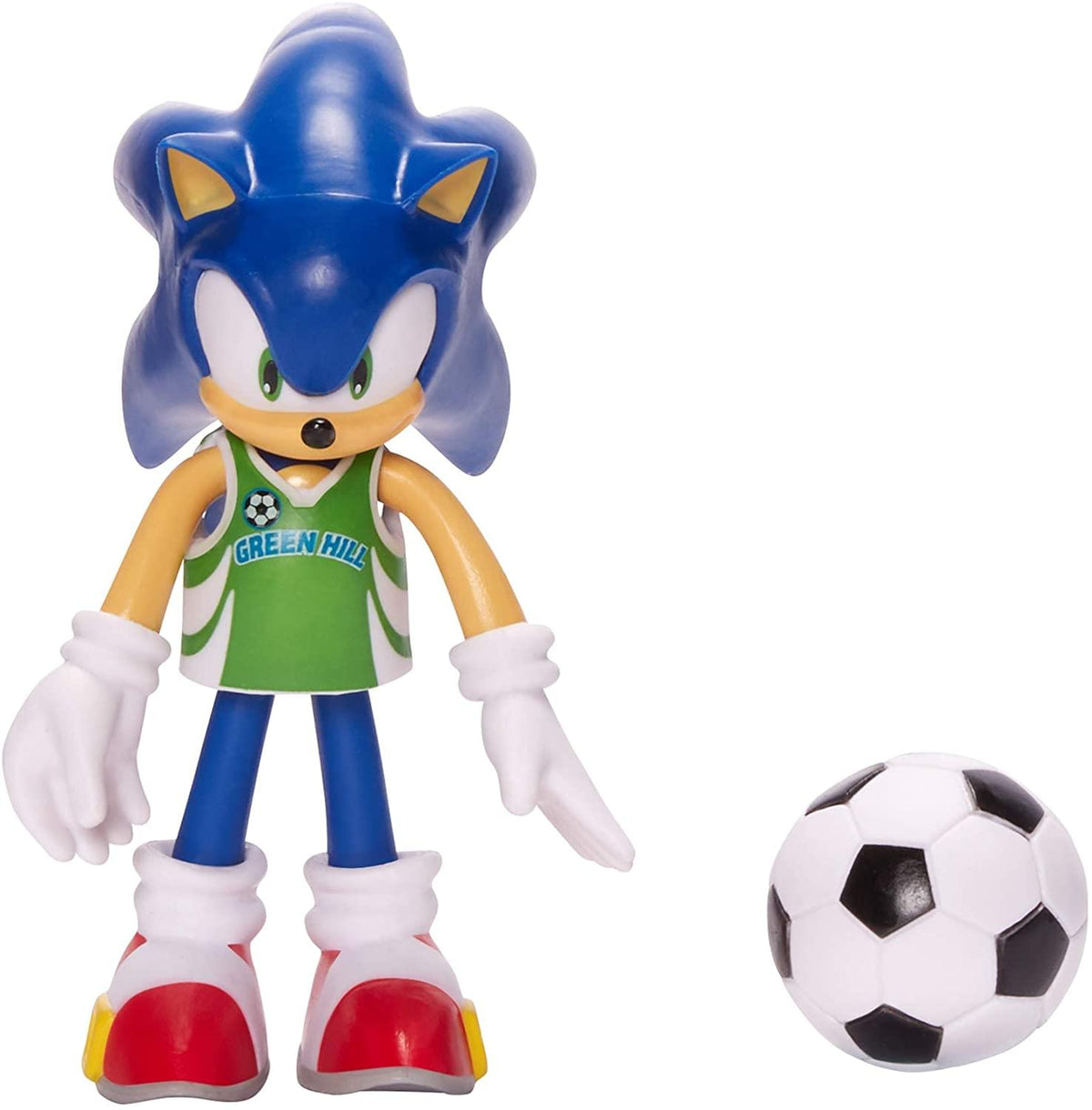 Sonic the Hedgehog 4 Inch Bendable Figure | Soccor Sonic