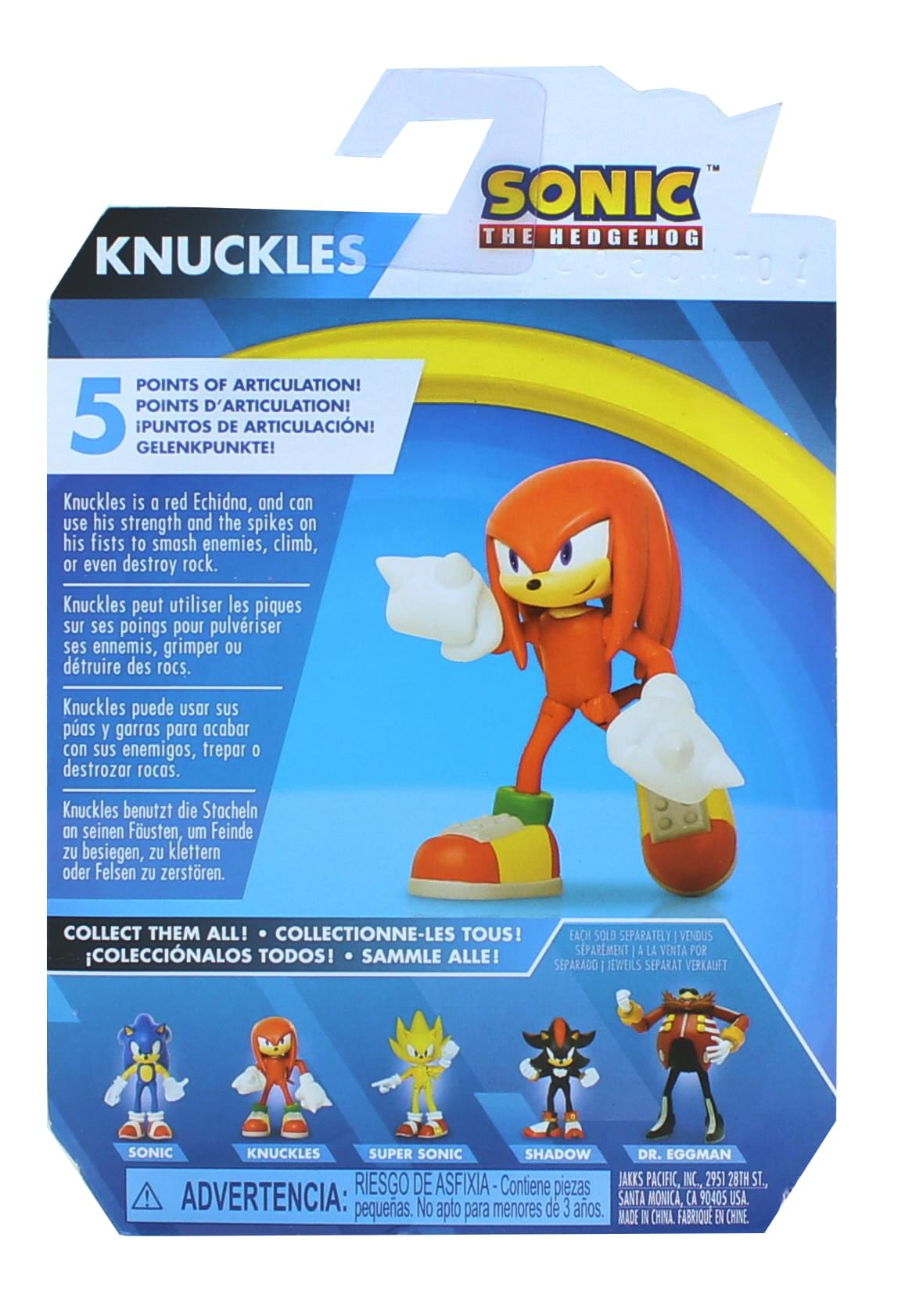 Sonic the Hedgehog 2.5 Inch Action Figure | Modern Knuckles