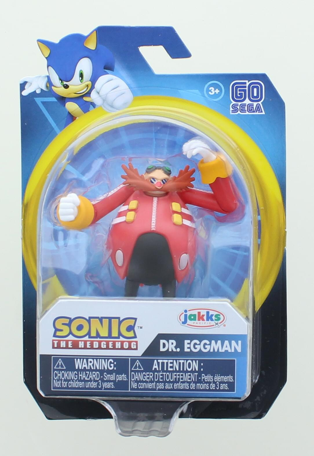 Sonic the Hedgehog 2.5 Inch Action Figure | Dr. Eggman