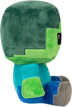 Load image into Gallery viewer, Minecraft Craft Adventure Series 8.75 Inch Collectible Plush | Zombie