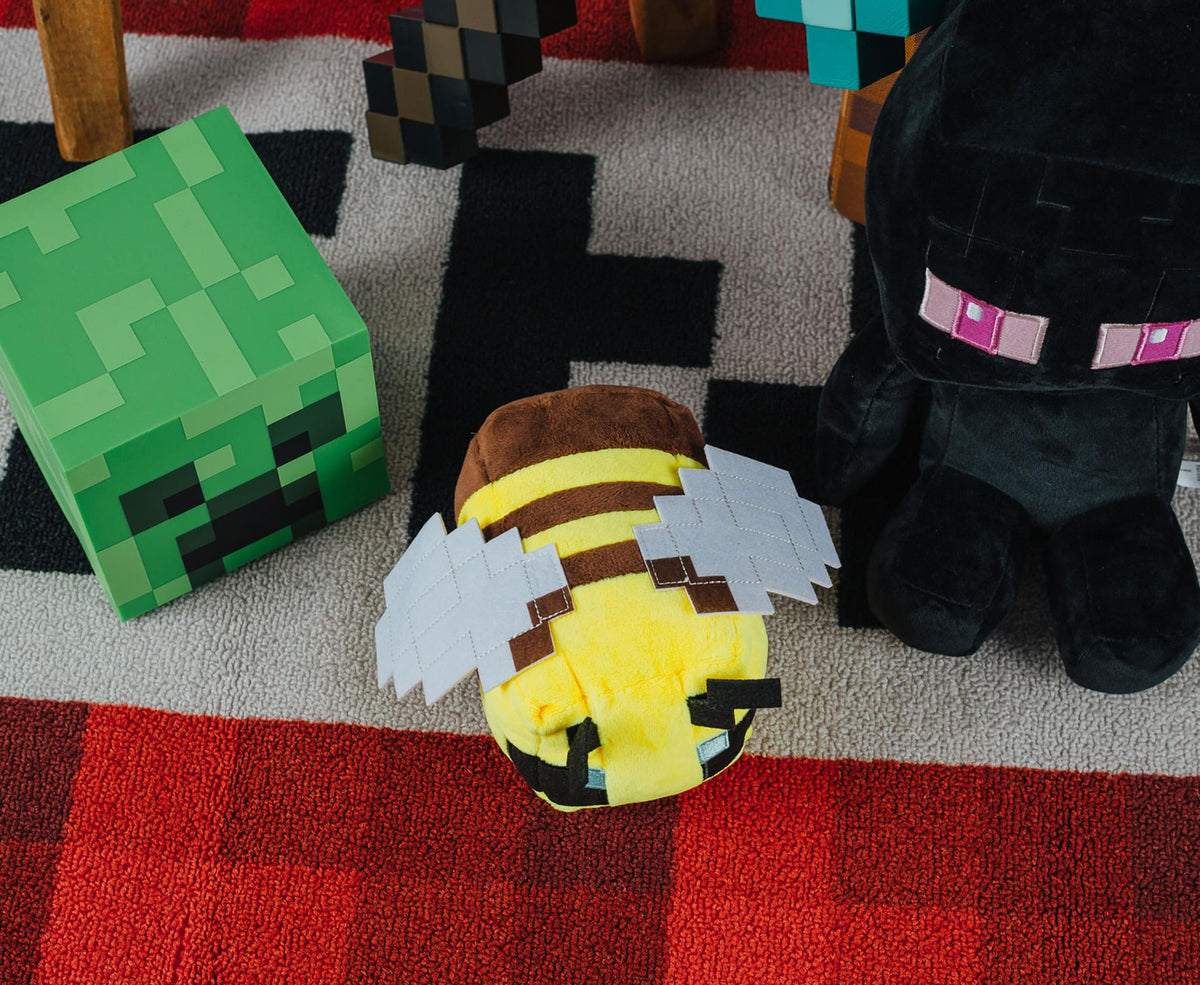 Minecraft Happy Explorer Series Bee Plush Toy | 4.5 Inches