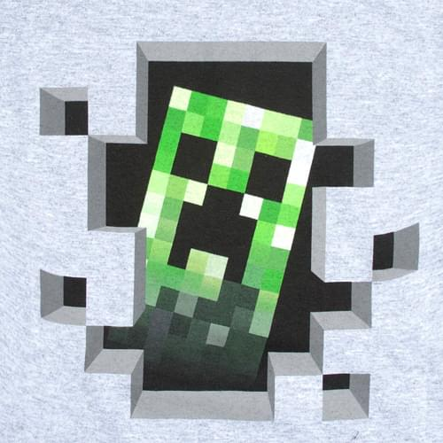 Minecraft Creeper Inside Youth T-Shirt