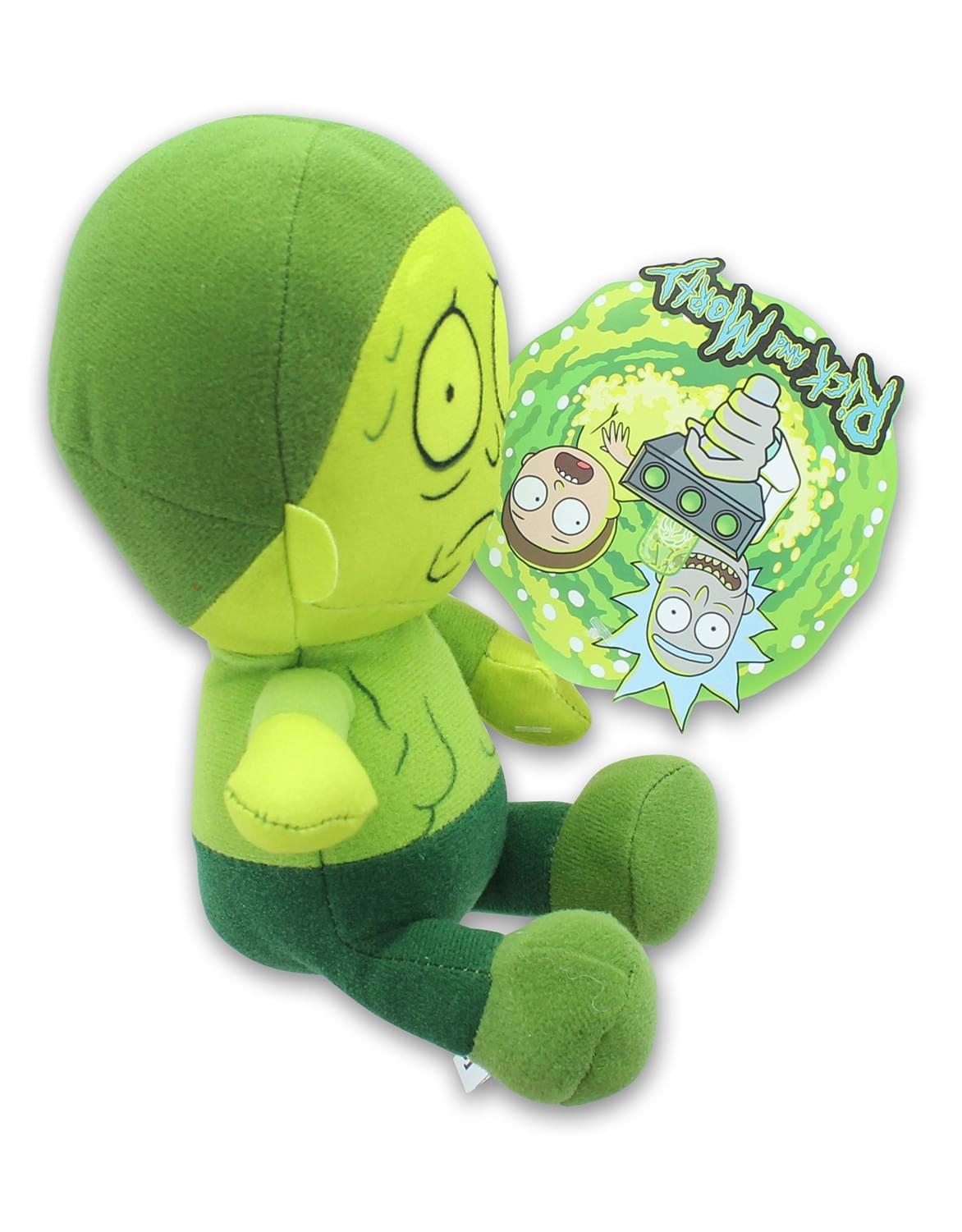 Rick & Morty 8 Inch Stuffed Character Plush | Toxic Morty