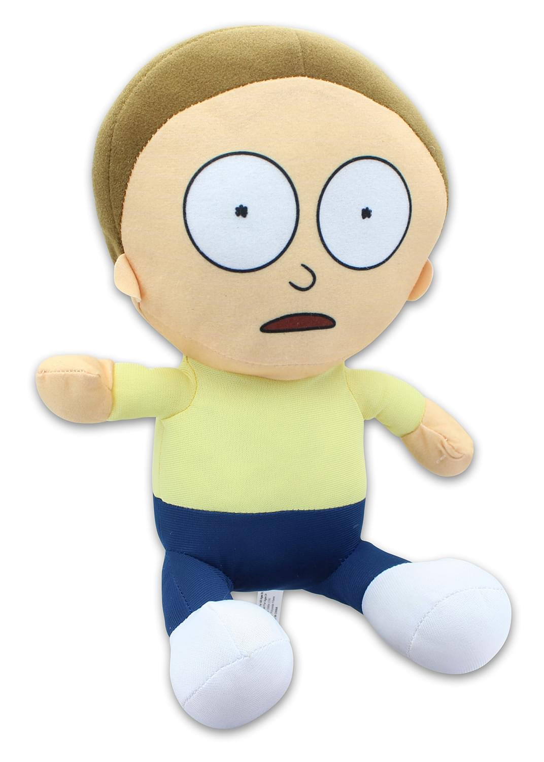 Rick & Morty 10 Inch Stuffed Character Plush | Morty