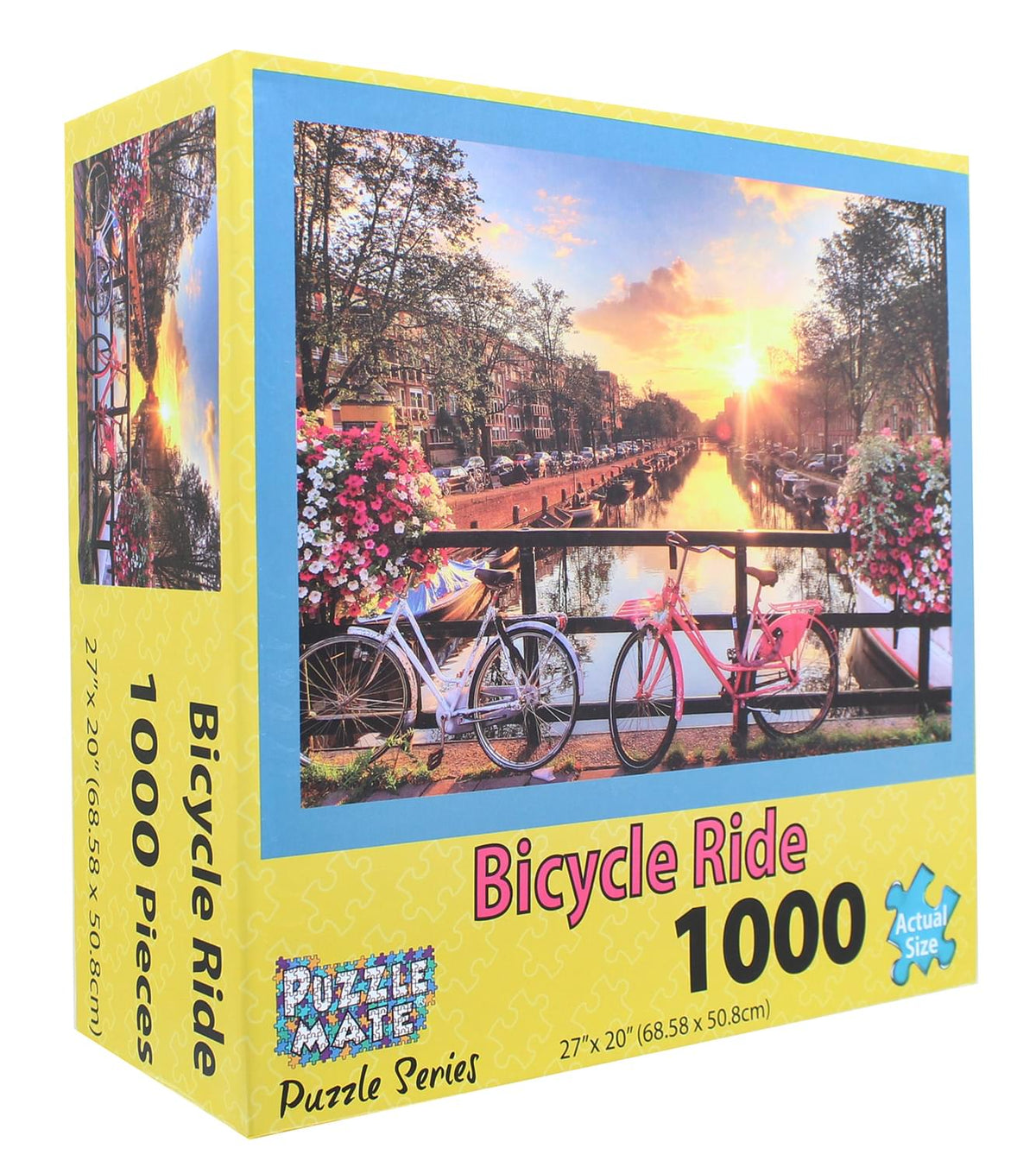 Bicycle Ride 1000 Piece Jigsaw Puzzle