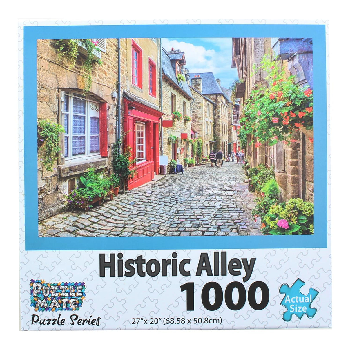 Historic Alley 1000 Piece Jigsaw Puzzle