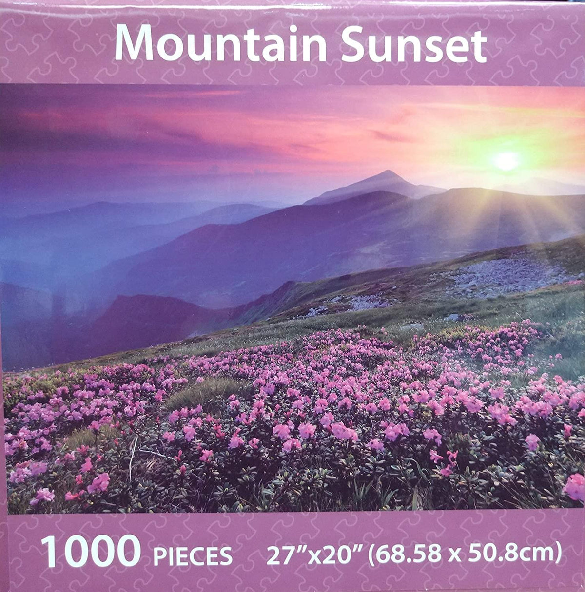 Sunset 1000 Piece Landscape Jigsaw Puzzle