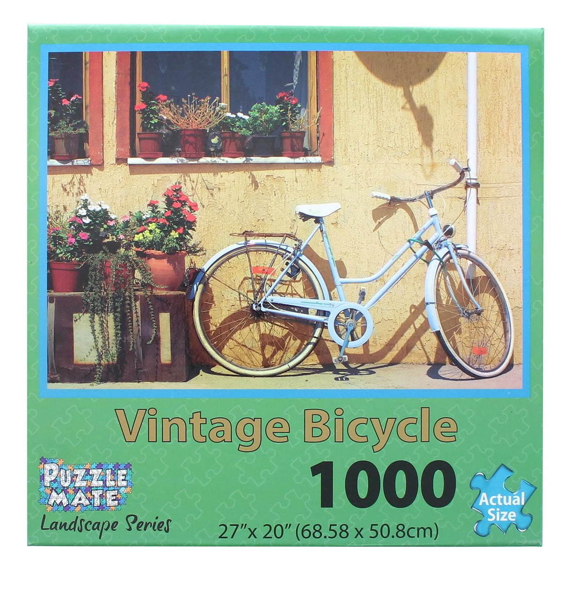 Vintage Bicycle 1000 Piece Jigsaw Puzzle