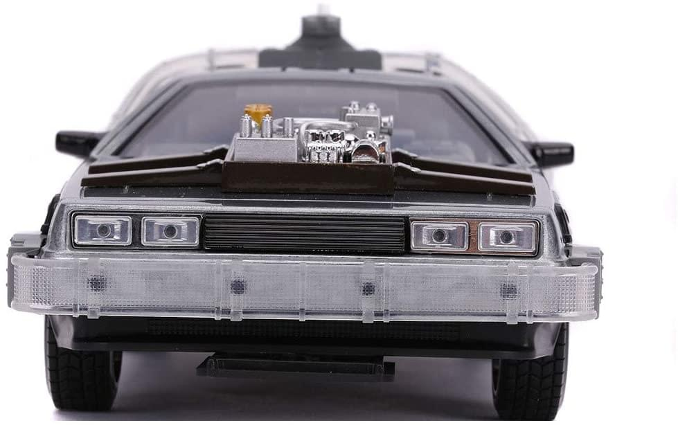 Back To The Future III Time Machine Light-Up 1:24 Die Cast Vehicle
