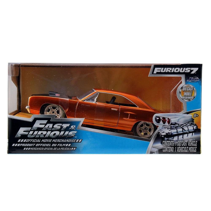 Fast & Furious 1:24 Die-Cast Vehicle: '70 Plymouth Road Runner