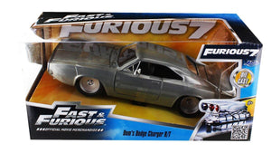 Fast & Furious 1:24 Diecast Vehicle: '68 Dodge Charger R/T