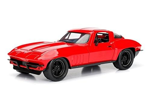 Fast & Furious 1:24 Diecast Vehicle: Letty Ortiz's Chevy Corvette, Red