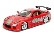 Load image into Gallery viewer, Fast & Furious 1:24 Diecast Vehicle: Dom's Mazda RX-7, Red