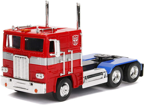 Transformers G1 Optimus Prime Truck 1:24 Die Cast Vehicle