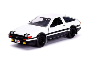 Initial D First Stage Toyota Trueno AE86 1:24 Die Cast Vehicle with Figure
