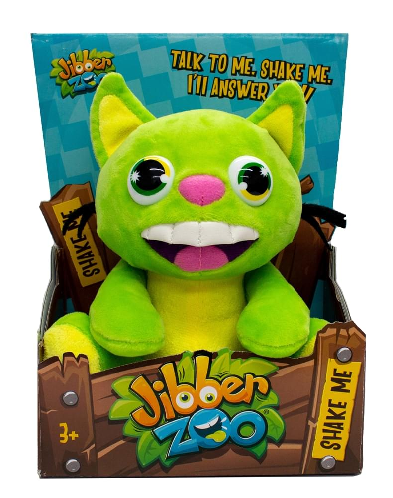 Jibber Zoo Interactive Plush Toy | Jibby Cat