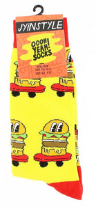 Burgers on Wheels Men's Crew Socks