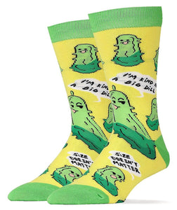 Big Dill Men's Crew Socks