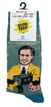 Load image into Gallery viewer, Mister Rogers Neighborhood Be My Neighbor Men's Crew Socks | One Size