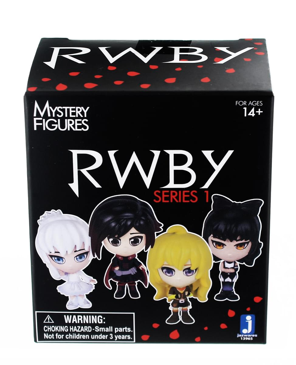 "RWBY Blind Boxed 3"" Mini Figure Lot of 3"