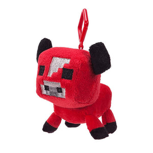 Minecraft 3 Inch Plush Clip On - Baby Mooshroom