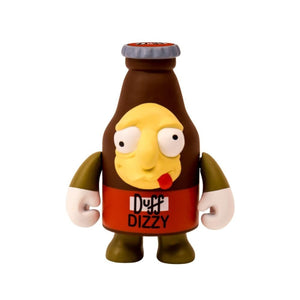 "The Simpsons: 3"" Dizzy Duff Beer Vinyl Figure by Kidrobot"