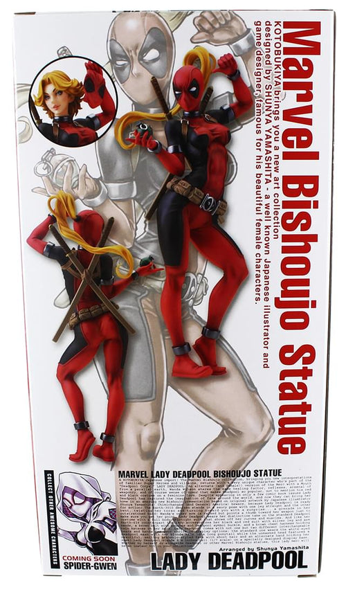 "In STOCK Kotobukiya Marvel Comics /""Lady Deadpool/"" 1//7 Bishoujo Statue"