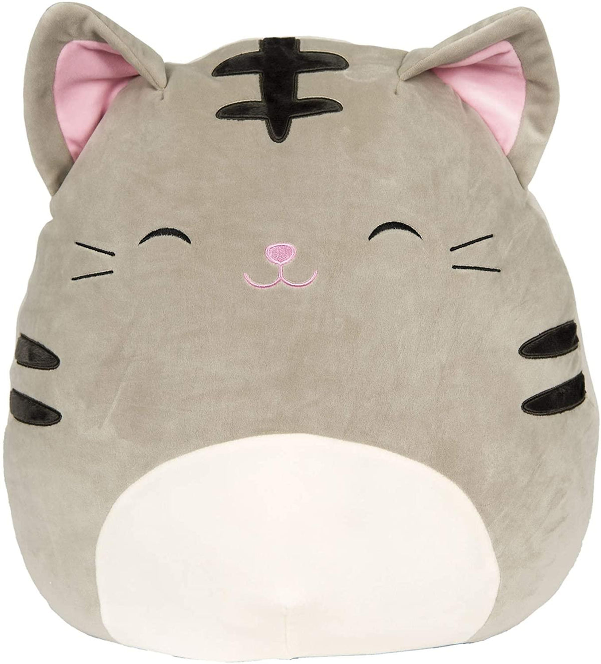 Squishmallow 20 Inch Plush | Tally the Grey Tabby Cat