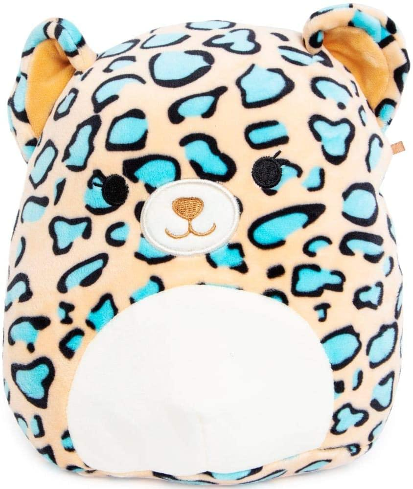 Squishmallow 24 Inch Pillow Plush | Liv the Teal Leopard