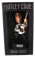 Load image into Gallery viewer, Locoape Motley Crue Nikki Sixx Resin Bobble Head Statue