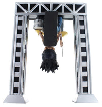 Locoape Motley Crue Tommy Lee with Upside Down Drum Rig Resin Bobble Head Statue
