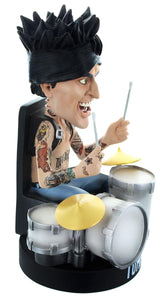 Locoape Motley Crue Tommy Lee No Drum Rig Resin Bobble Head Statue